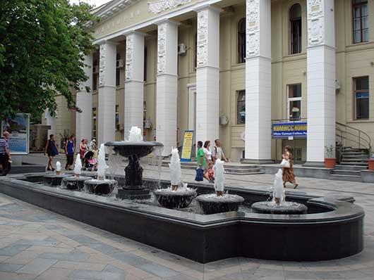 Улица Пушкина в Ялте