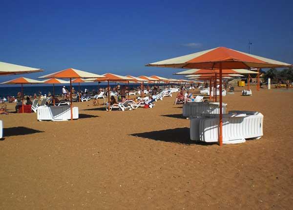 Феодосия-Золотой пляж