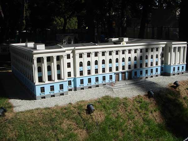 Здание министров АРК