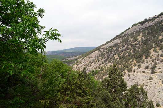Чернореченский каньон фото