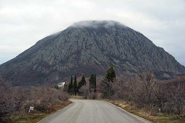 Вид горы Аю-Даг