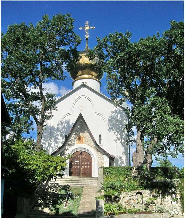 Церковь Николая Чудотворца в Ялте фото
