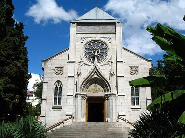 Костел Пресвятой Богородицы в Ялте фото