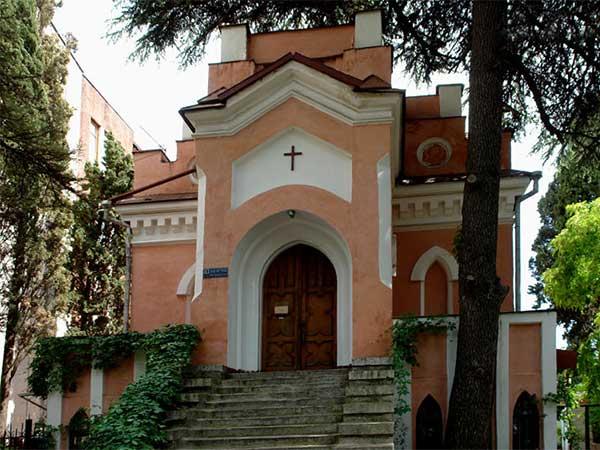 Лютеранская кирха Святой Марии фото