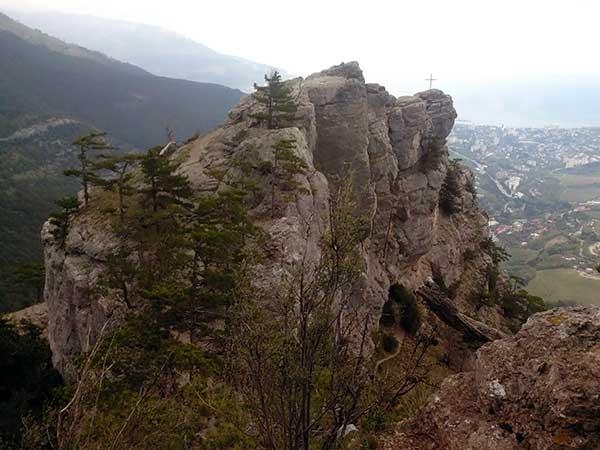 Вершина горы Ставри-Кая