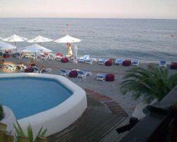 Бассейн для детей на пляже Массандра