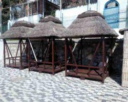 Бунгало для отдыха на пляже