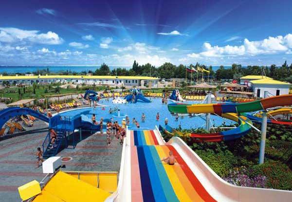 Аквапарк «Банановая Республика» в Евпатории фото