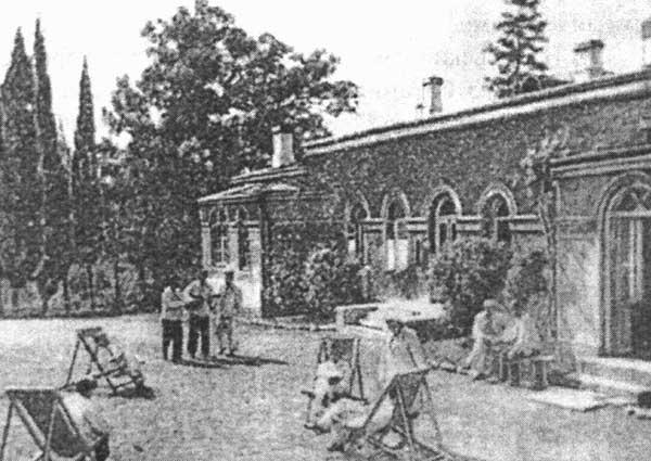 Дача Тессели в Форосе в старину