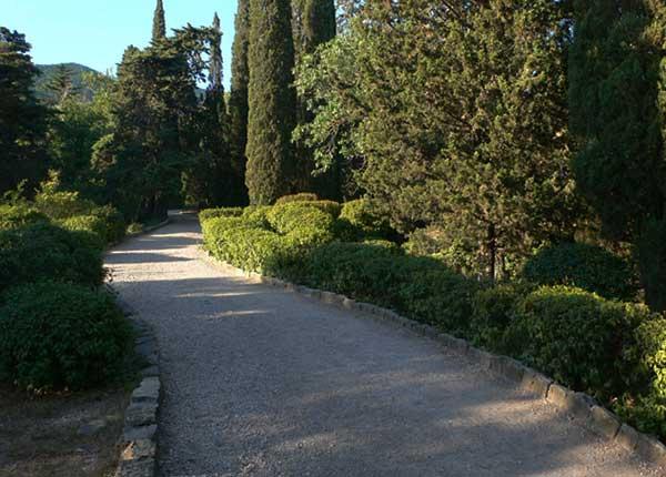 Парк в Форосе