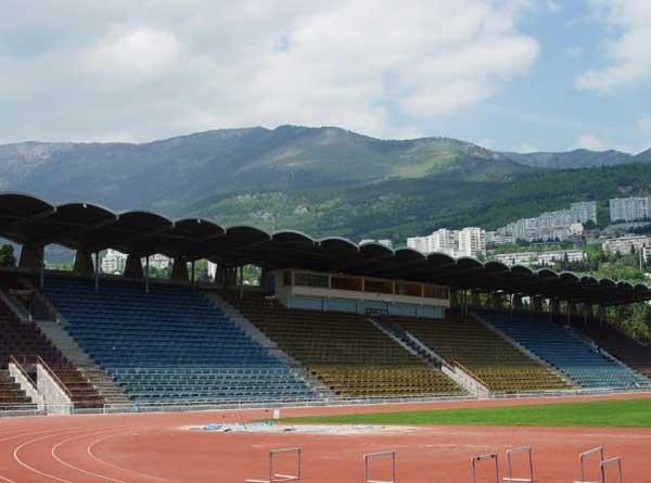 Стадион Авангард в Ялте