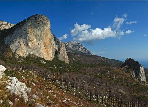 скала Шаан-Кая в Алупке