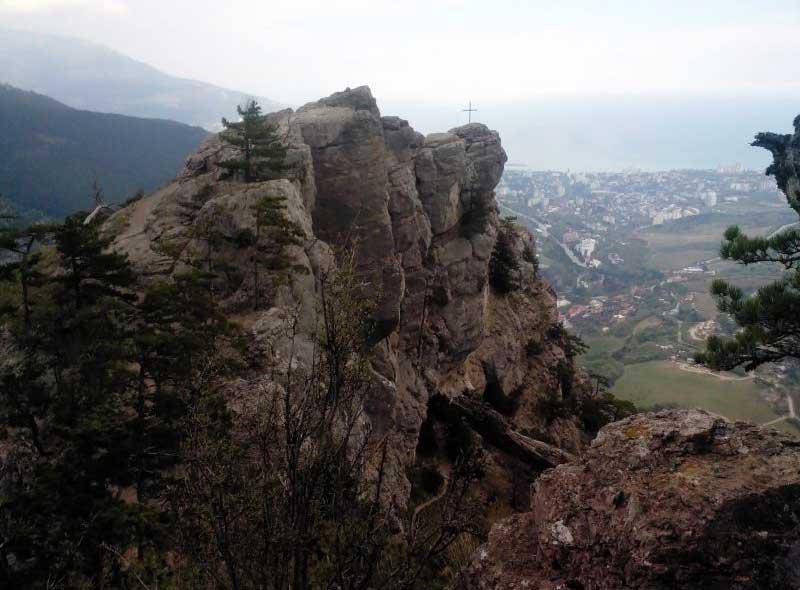 Вид на Ялту со Ставри-Кая