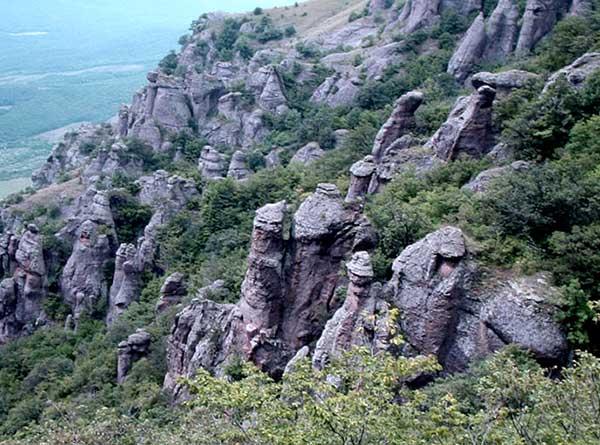 Демерджи-долина приведений
