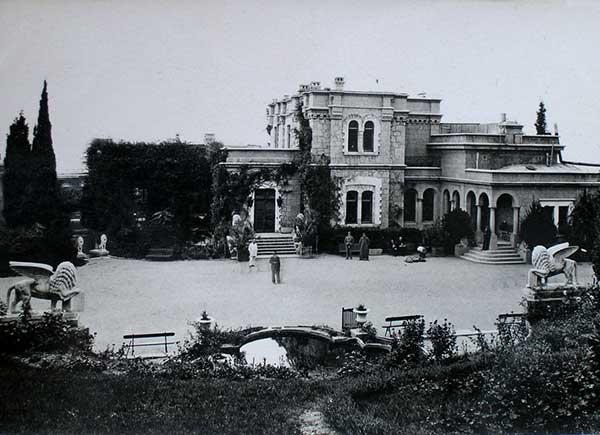 Юсуповский дворец после постройки