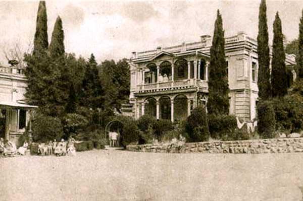Дворец Ай-Тодор XIX век