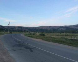 Дорога  к пещере Кизил-Коба