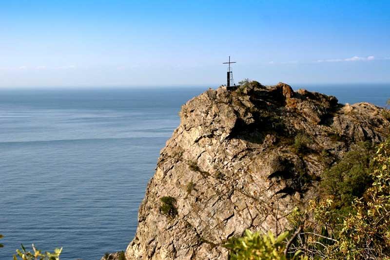 Скала Ифигения -Крым