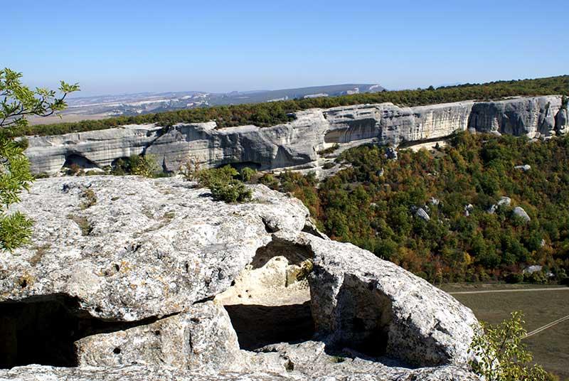 пещерный город Эски-Кермен Крым