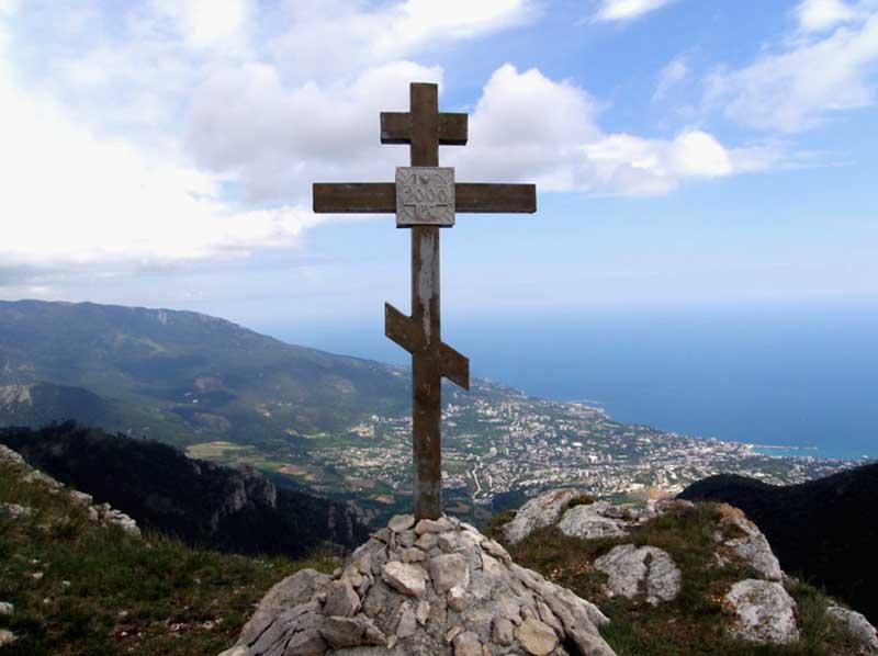 Поклонный крест -перевал Иограф