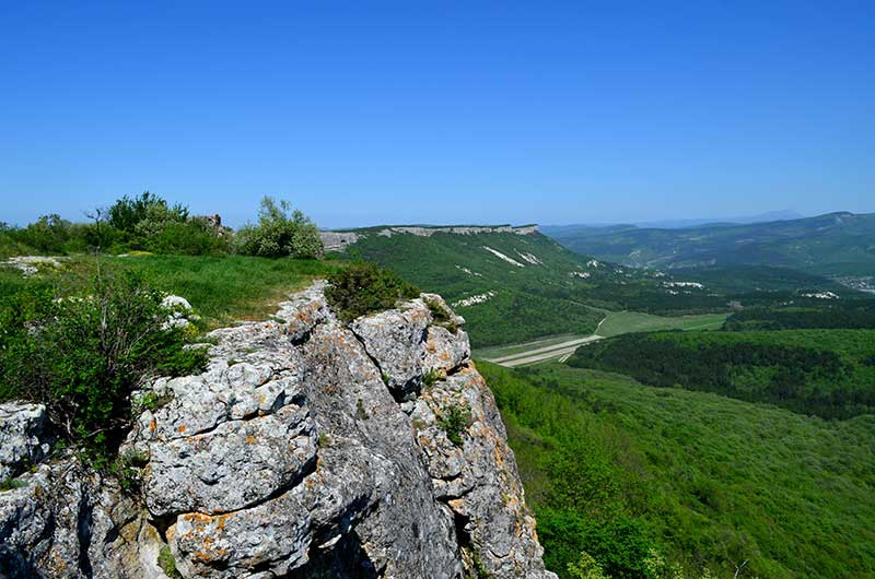 гора Мангуп-Кале в Крыму