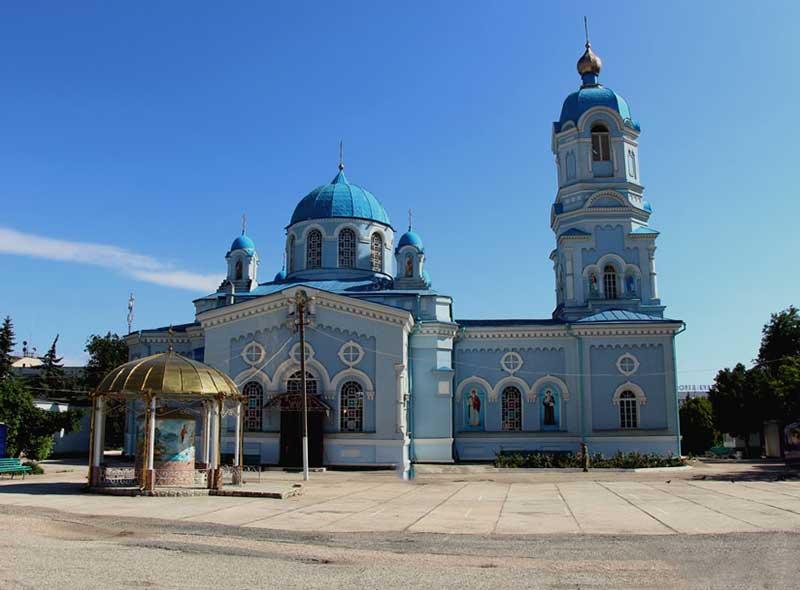 Церковь Св. Илии в г. Саки