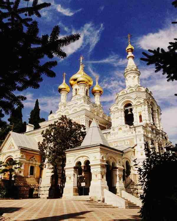 Храм Александра Невского в Ялте