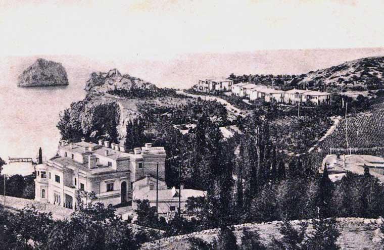 Дворец Суук-Су в старину