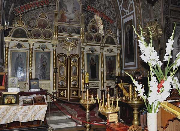 Иконостас собора Александра Невского в Ялте
