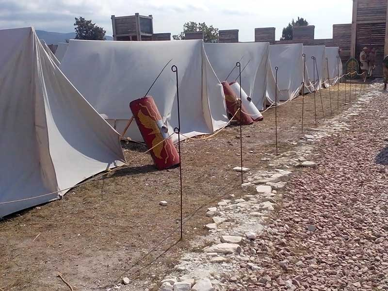 Лагерь Римских легионеров