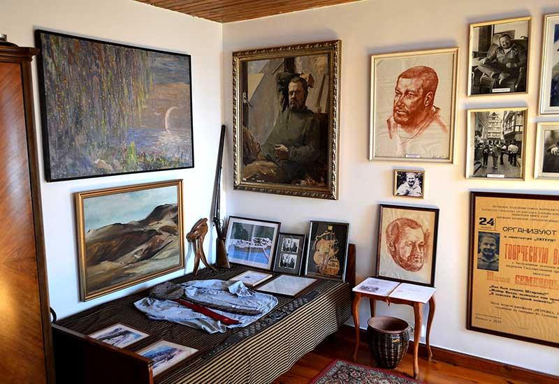 Комната отдыха писателя