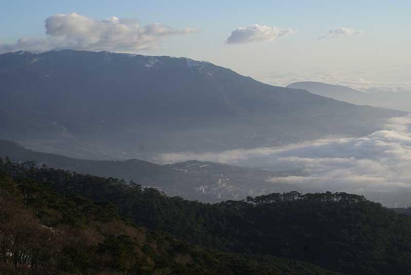 Гора Могаби в Ялте