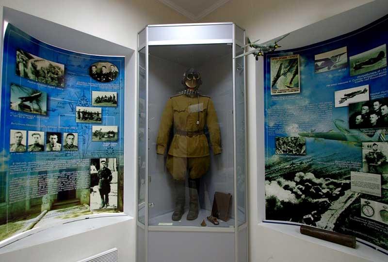 Экспозиция музея Амет-Хан-Султана
