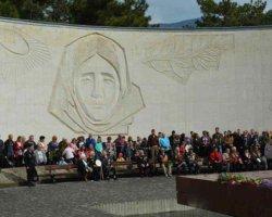 Церемония на холме Славы в Ялте