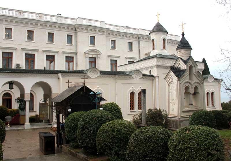Крестовоздвиженская церковь в Ливадийском дворце