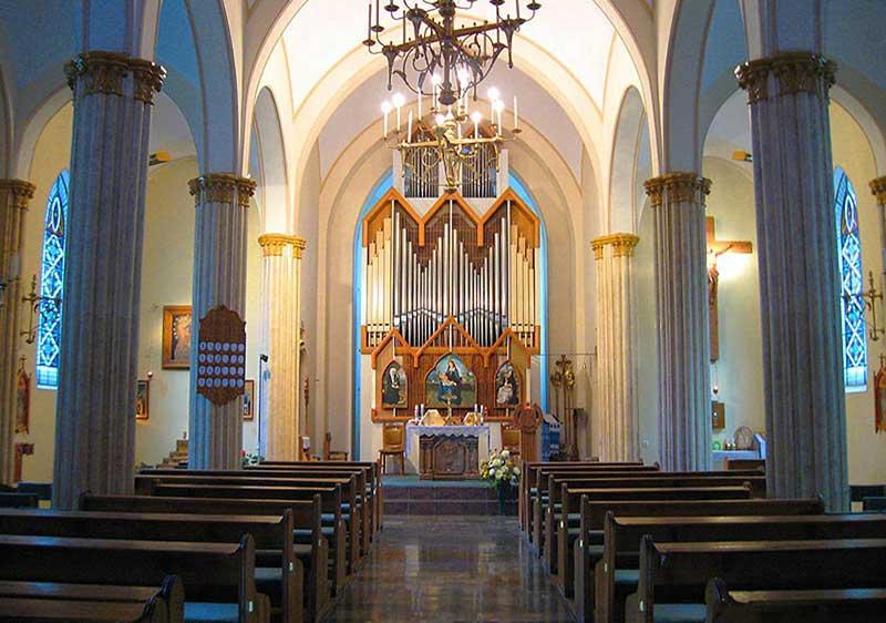Органный зал в римско-католическом храме