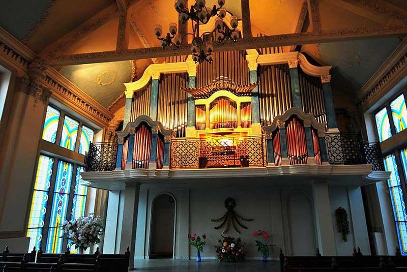 Органный зал в Ливадии
