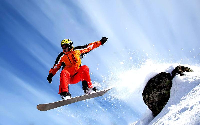 Сноубординг в Крыму фото