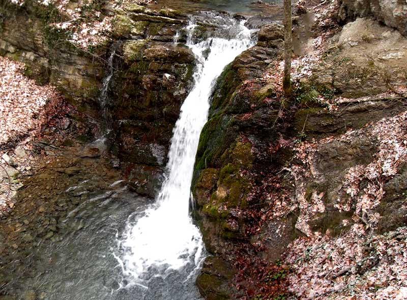 Каскад водопадов Головкинского