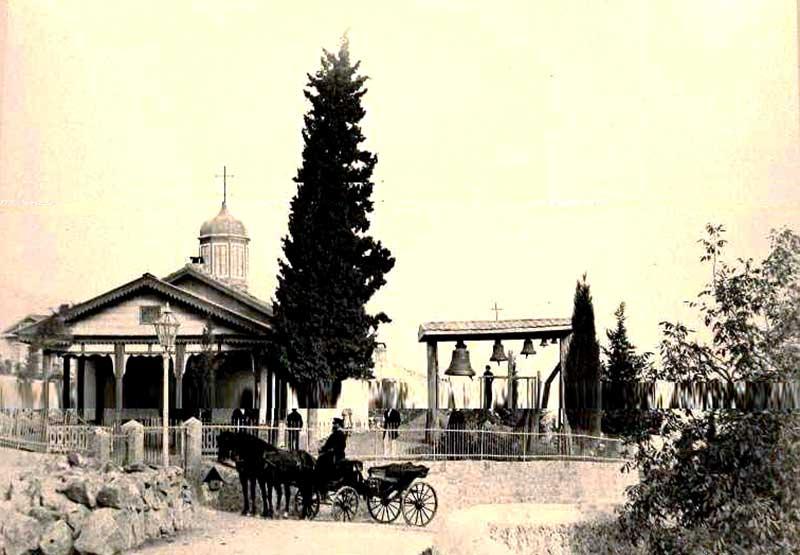 Церковь Святого Великомученика Федора Тирона в старину