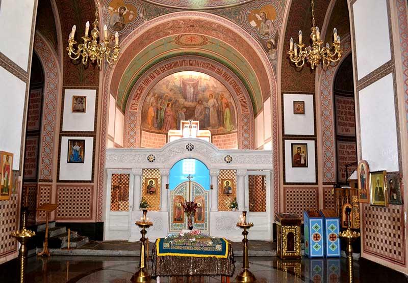 Алтарь Храм Покрова Пресвятой Богородицы