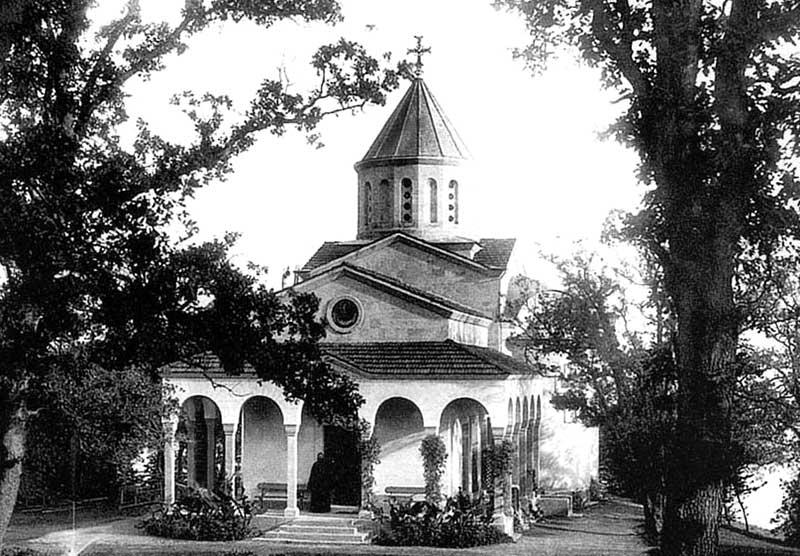 Церковь Покрова Божией Матери в Нижней Ореанде в старину