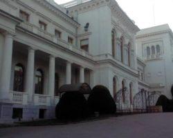 Вид дворца