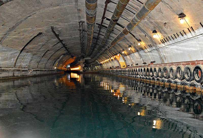 Балаклавский подземный музейный комплекс подводных лодок