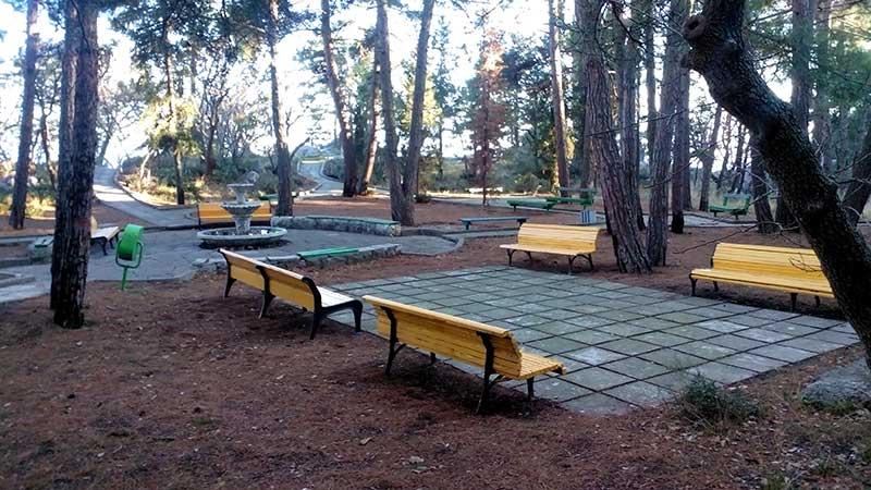 Парк по маршруту Солнечной тропы