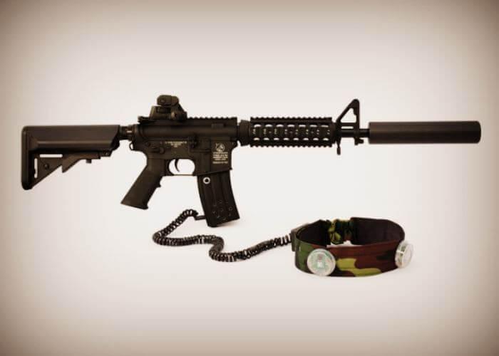 Оружие для лазертаг