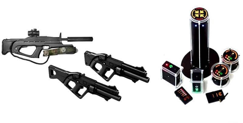 Снаряжение для игры лазертаг