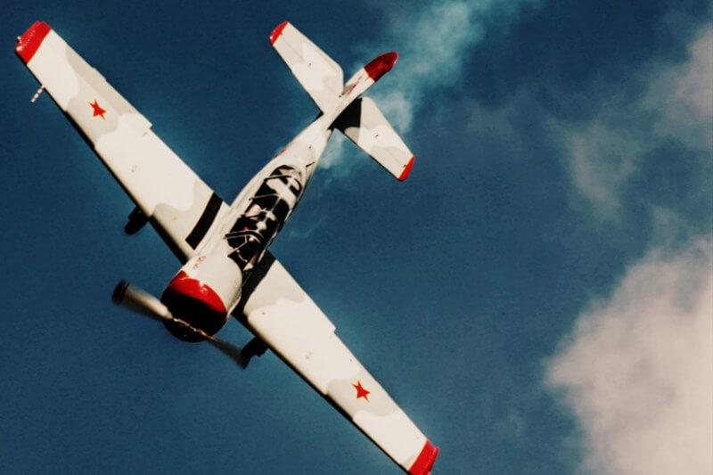 Полёты на самолёте в Крыму