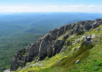 Фото горы Чатыр-Дага в Крыму