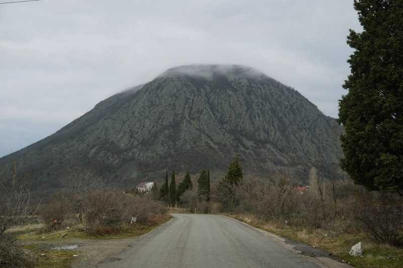 Медведь гора в Крыму